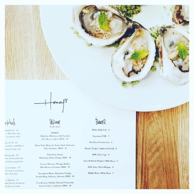 honeys oysters