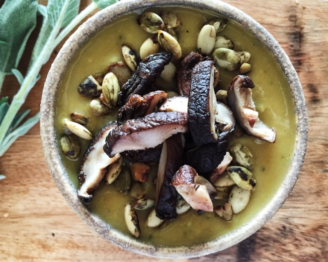 parsnip-soup-with-maitake-10-4-16