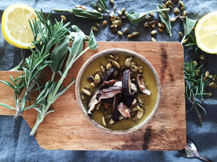 A  Warming Recipe For Parsnip & White Bean Soup